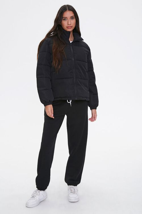 Quilted Puffer Jacket, image 4