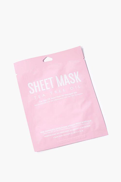 Tea Tree Oil Sheet Mask, image 1