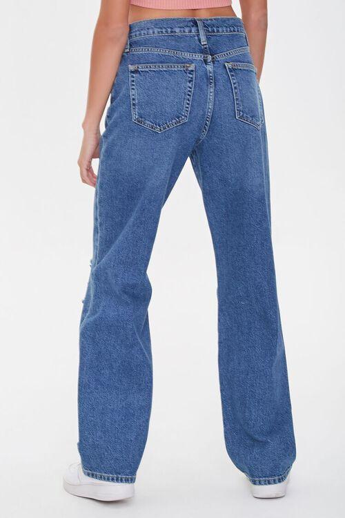 Distressed Straight-Leg Jeans, image 4