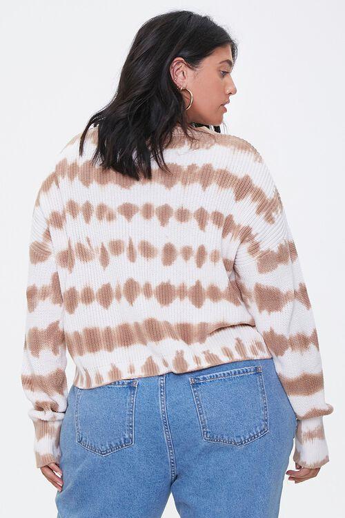 Plus Size Tie-Dye Sweater, image 3