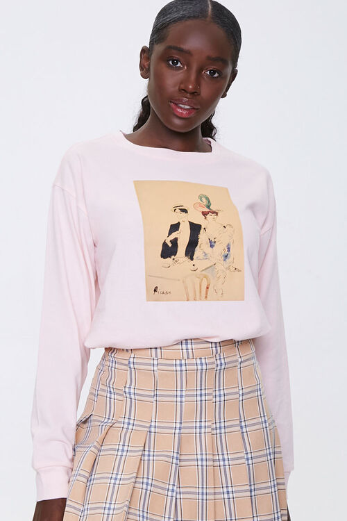 Picasso Graphic Top, image 1