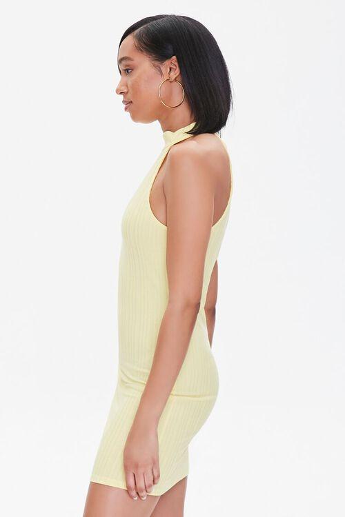 Ribbed Bodycon Mini Dress, image 2