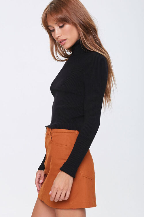 Ribbed Turtleneck Sweater, image 2