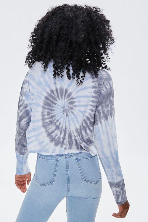 LIGHT BLUE/MULTI Tie-Dye High-Low Pullover, image 3