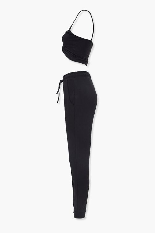 Cropped Cami & Joggers Set, image 2