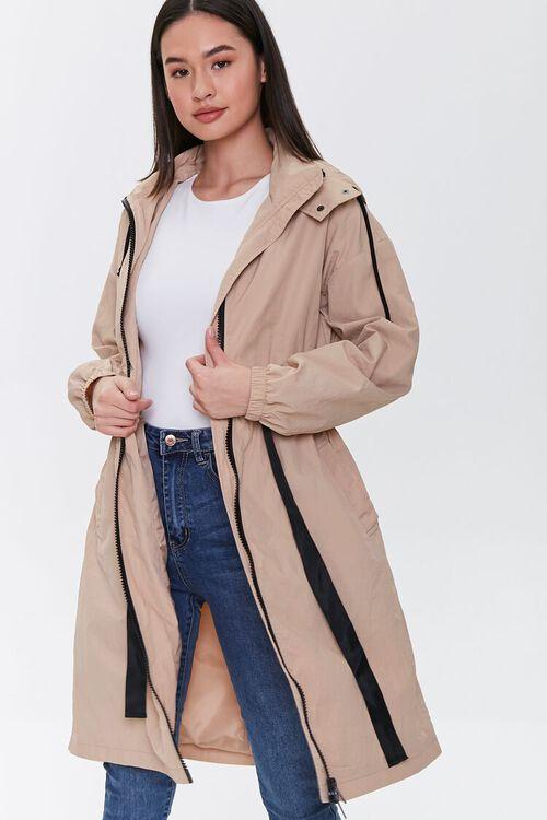 Hooded Longline Jacket, image 2