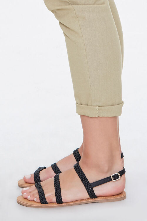 Braided Flat Sandals, image 3