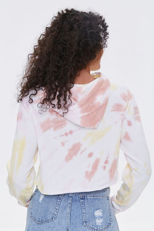ACDC Tie-Dye Cropped Hoodie, image 3