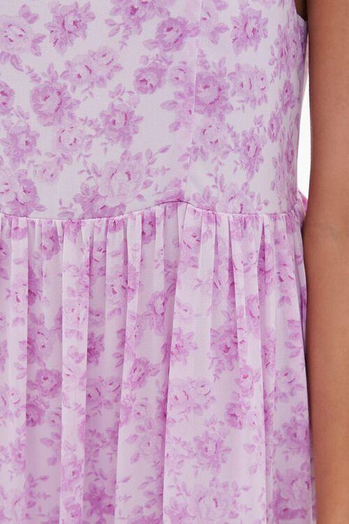 Floral Print Mini Cami Dress, image 5
