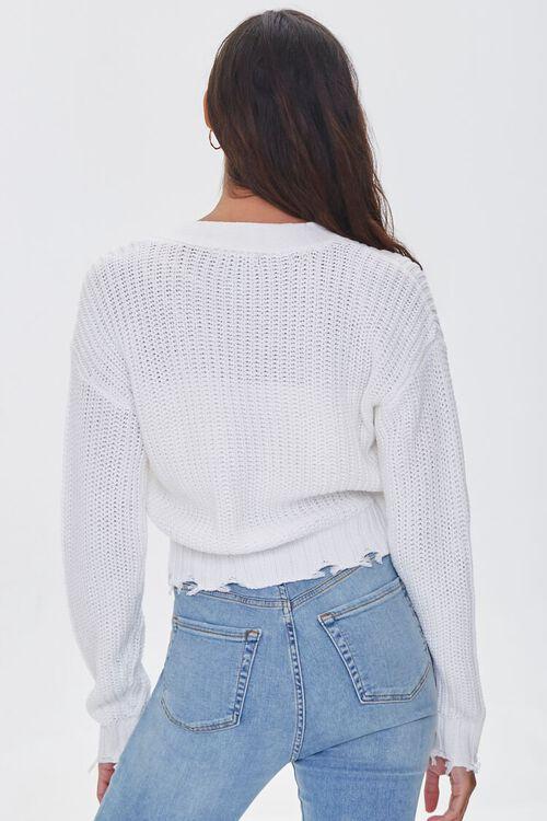CREAM Sharkbite Cardigan Sweater, image 3