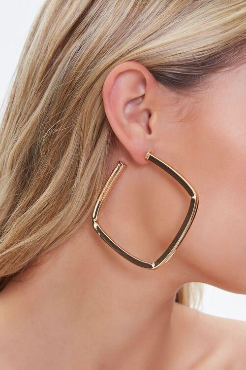 Square Hoop Earrings, image 1