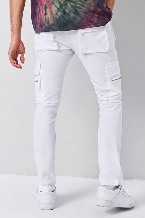 Dual-Cargo Pocket Drawstring Pants, image 4