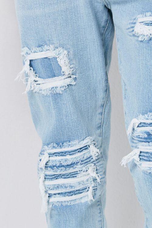 Moto-Panel  Distressed Skinny Jeans, image 6