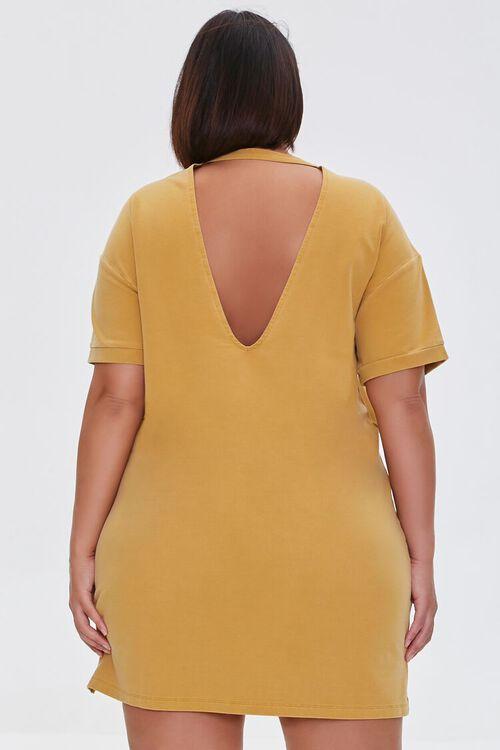 Plus Size Mini T-Shirt Dress, image 3