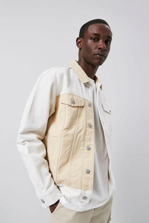 Colorblock Denim Jacket, image 2