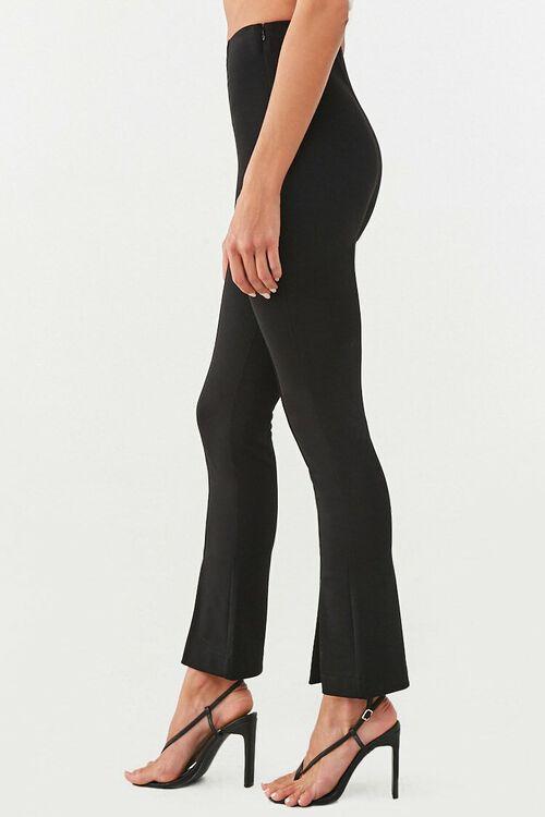 Creased Slit-Hem Pants, image 3