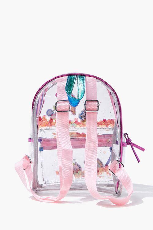 Girls Transparent Sequin Backpack  (Kids), image 3