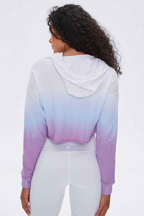Active Ombre Raw-Cut Hoodie, image 3