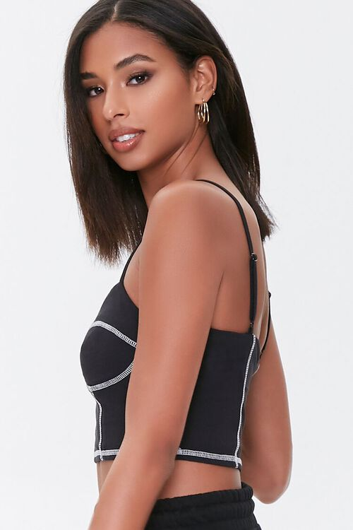 Bustier Cropped Cami, image 2