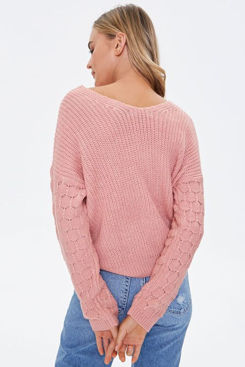 Reversible Twist-Front Sweater, image 3