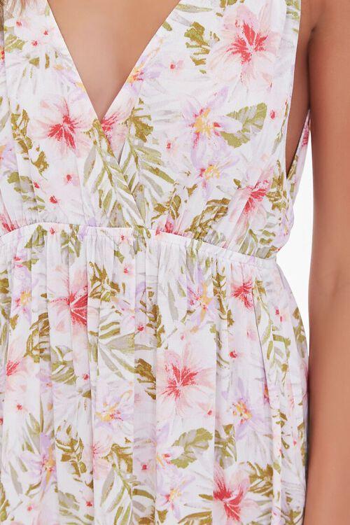 Floral Print Midi Dress, image 5