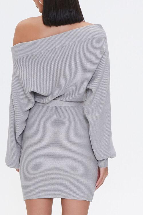 Off-the-Shoulder Sweater Dress, image 3