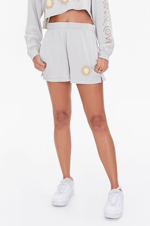Celestial Graphic Pullover & Shorts Set, image 5
