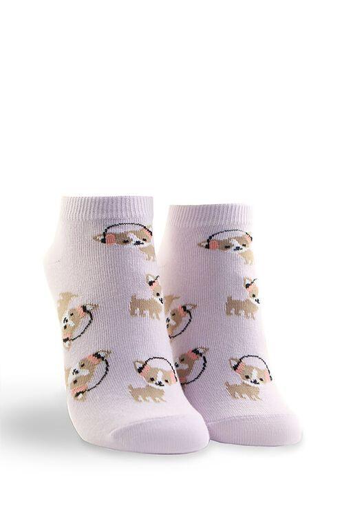 Headphone Dog Ankle Socks, image 1