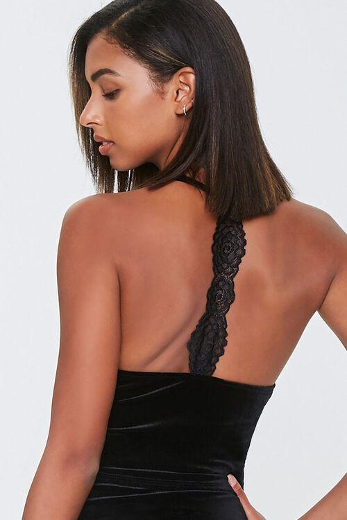 Velvet Lace-Back Cami, image 3