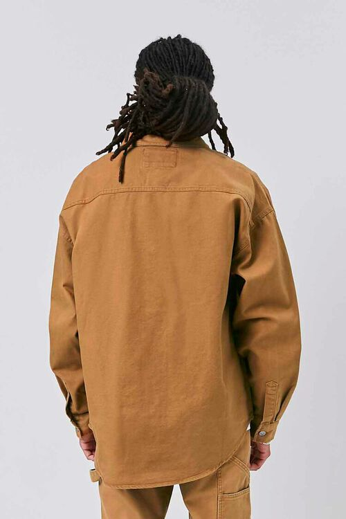 Buttoned Canvas Jacket, image 4