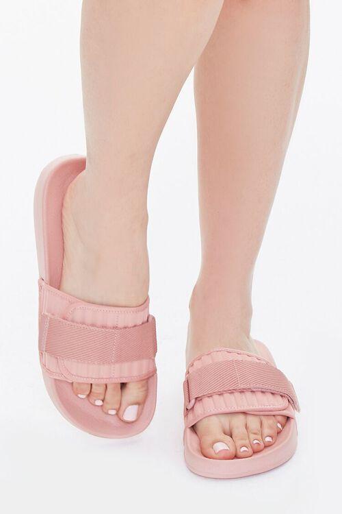 Recycled Adjustable Slide Sandals, image 4