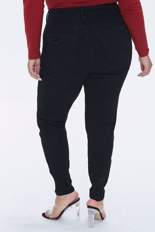 Plus Size High-Rise Skinny Jeans, image 4