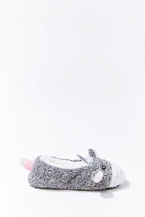 Plush Unicorn Indoor Slippers, image 2