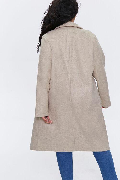 Plus Size Heathered Duster Jacket, image 3