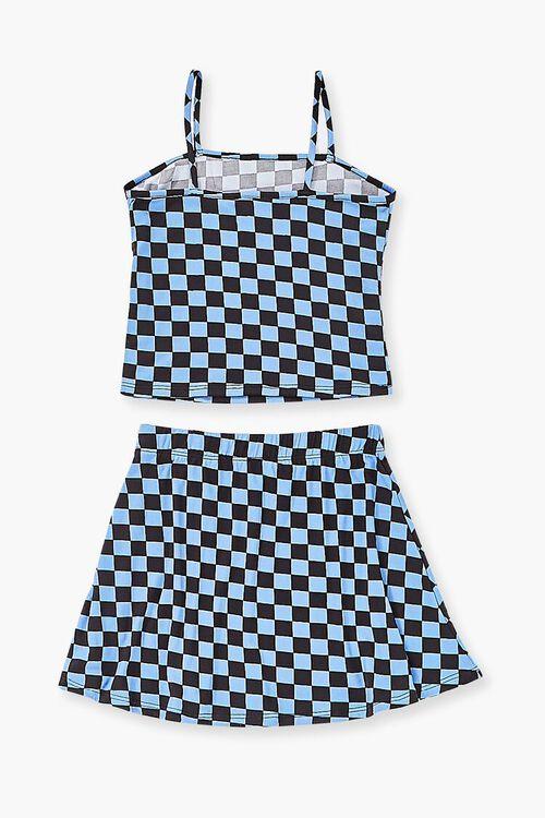 Girls Checkered Cami & Skirt Set (Kids), image 2
