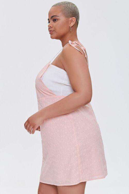 Plus Size Eyelet Pinafore Dress, image 2