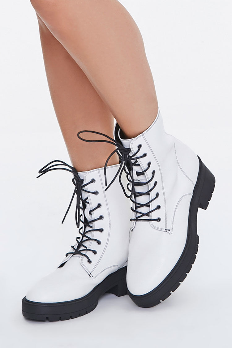 White Boots   Forever 21