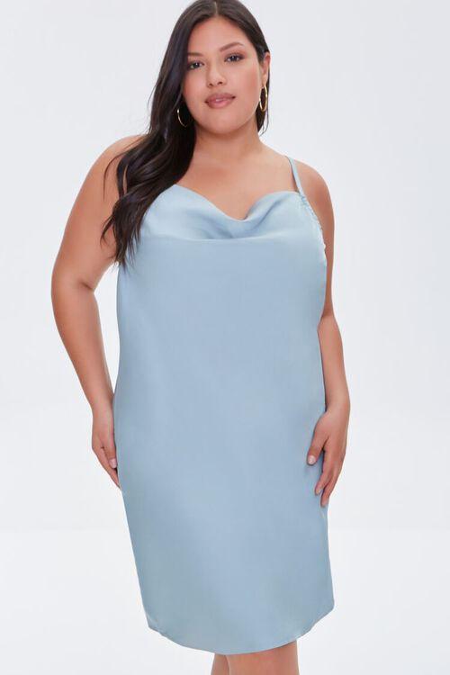 Plus Size Cami Slip Dress, image 1