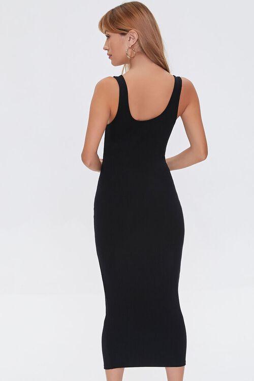 Ribbed Bodycon Midi Dress, image 3