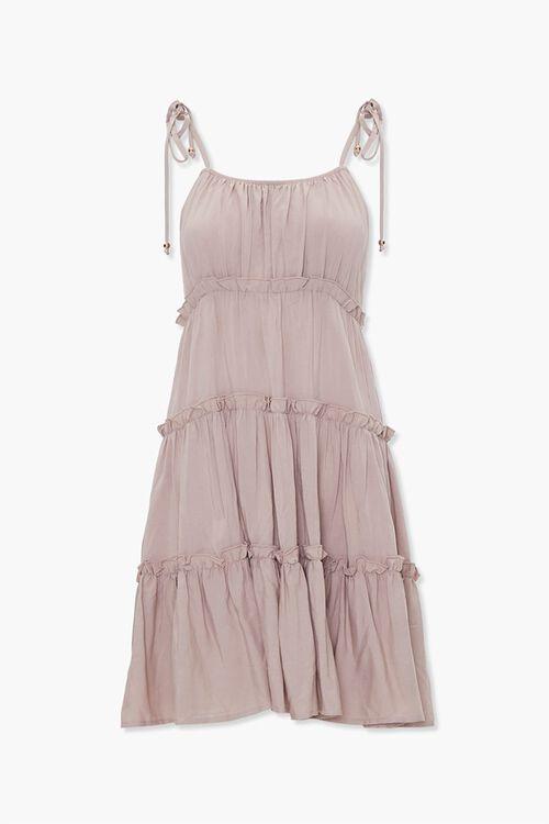 Tiered Ruffle-Trim Shift Dress, image 1