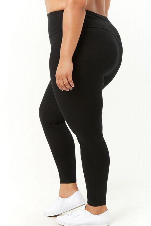 Plus Size High-Waist Leggings, image 4