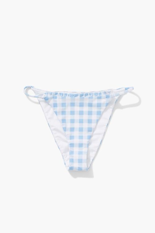 Gingham String Bikini Bottoms, image 6