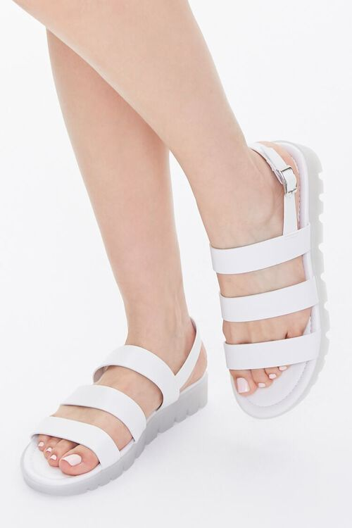 Caged Lug-Sole Sandals, image 1