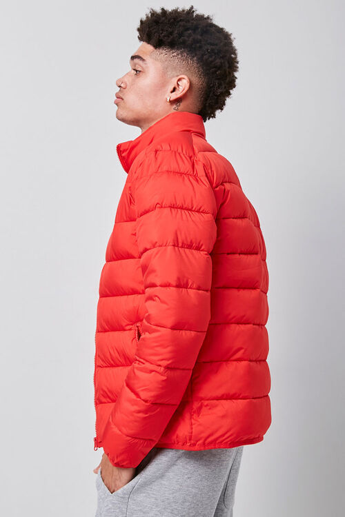 Funnel Neck Puffer Jacket, image 2