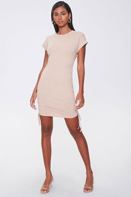 Drawstring T-Shirt Dress, image 4