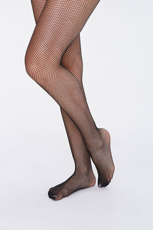 Sheer Fishnet Tights, image 1