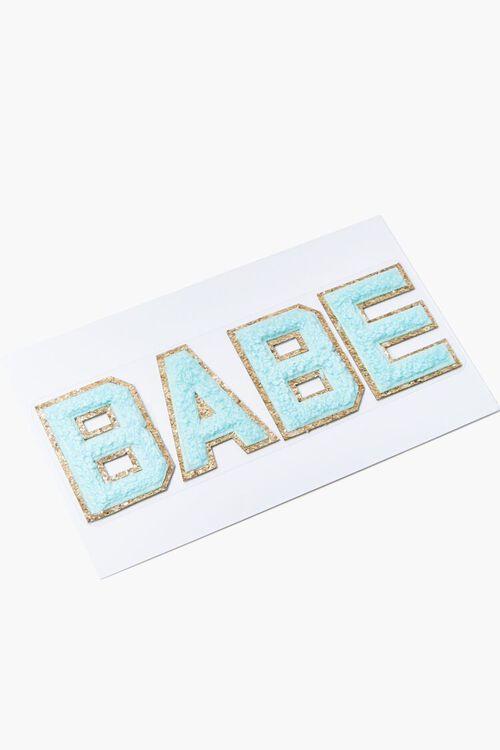 DIY Babe Iron-On Embellishment, image 1