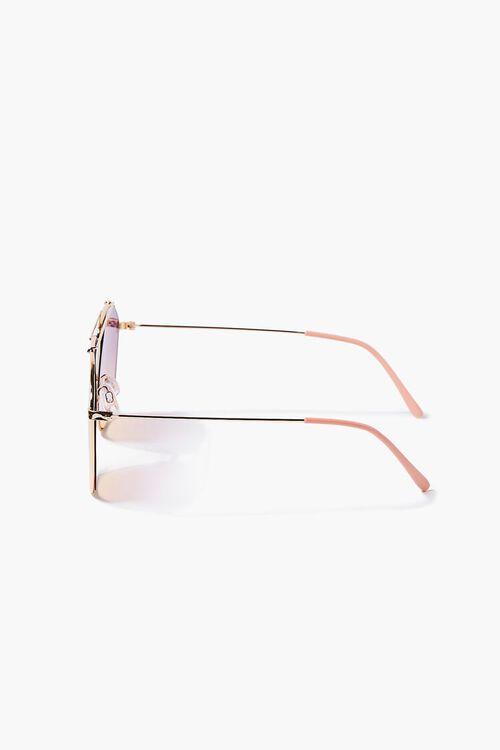 Ombre Aviator Sunglasses, image 3