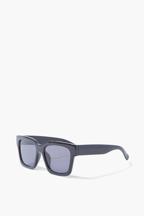 BLACK/BLACK Square Tinted Sunglasses, image 2