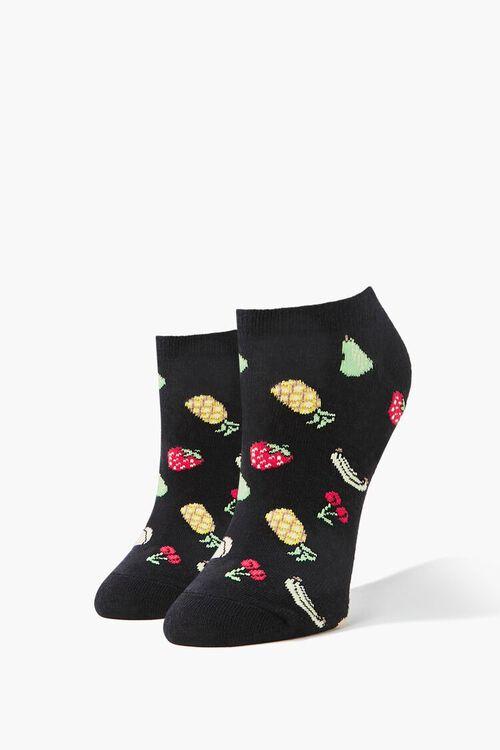Fruit Print Ankle Socks, image 1